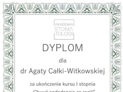 lek. stom. <span>Agata Całka-Witkowska</span> 4