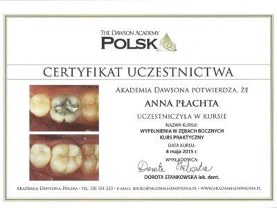 lek. stom. <span>Anna Płachta</span> 6