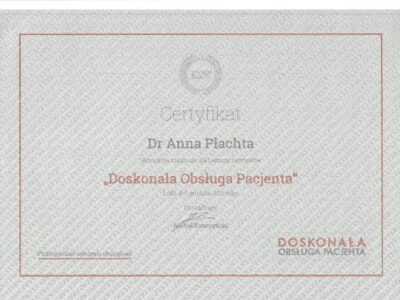lek. stom. <span>Anna Płachta</span> 14