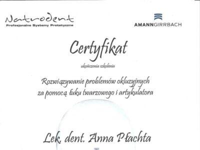 lek. stom. <span>Anna Płachta</span> 15