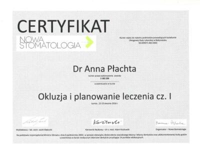 lek. stom. <span>Anna Płachta</span> 18