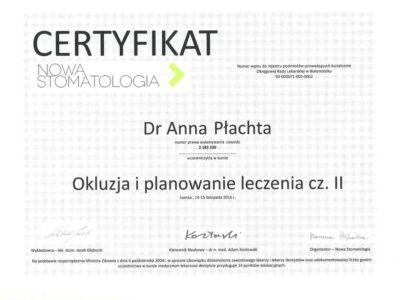 lek. stom. <span>Anna Płachta</span> 22