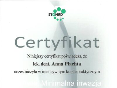 lek. stom. <span>Anna Płachta</span> 23