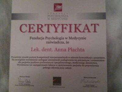 lek. stom. <span>Anna Płachta</span> 32