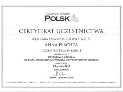 lek. stom. <span>Anna Płachta</span> 37