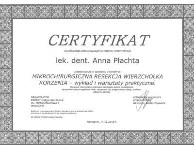 lek. stom. <span>Anna Płachta</span> 38