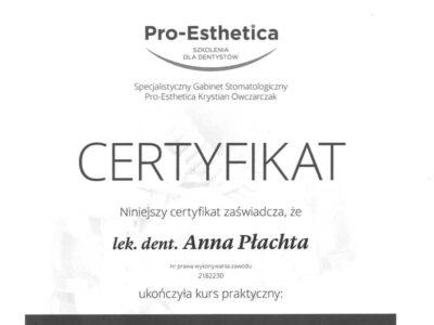 lek. stom. <span>Anna Płachta</span> 40