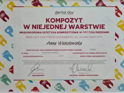 lek. stom. <span>Anna Wesołowska</span> 23
