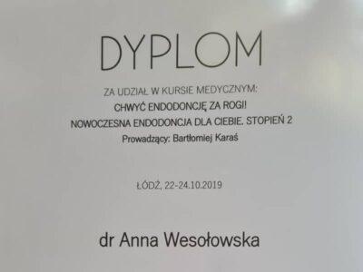 lek. stom. <span>Anna Wesołowska</span> 4