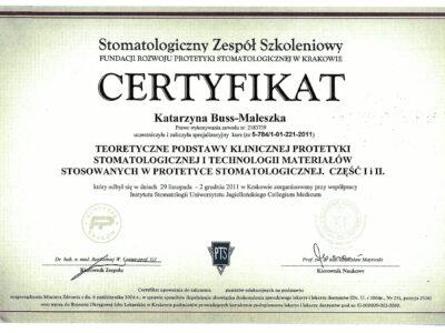 lek. stom. <span>Katarzyna Buss-Maleszka</span> 29