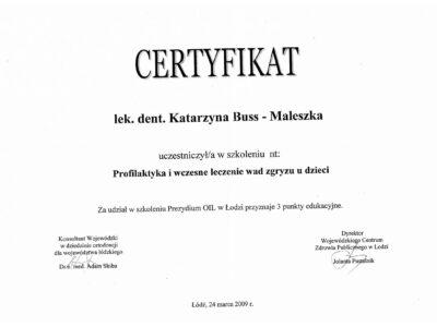 lek. stom. <span>Katarzyna Buss-Maleszka</span> 19