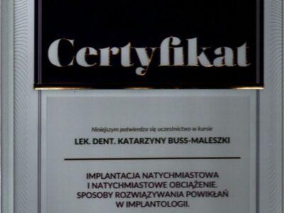 lek. stom. <span>Katarzyna Buss-Maleszka</span> 21