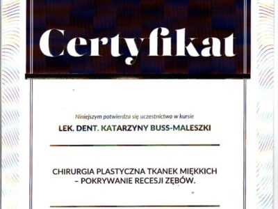 lek. stom. <span>Katarzyna Buss-Maleszka</span> 23