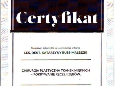 lek. stom. <span>Katarzyna Buss-Maleszka</span> 18