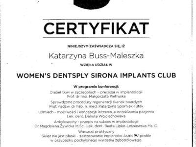 lek. stom. <span>Katarzyna Buss-Maleszka</span> 17