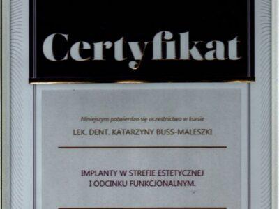 lek. stom. <span>Katarzyna Buss-Maleszka</span> 10