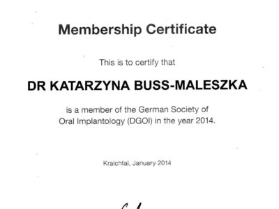 lek. stom. <span>Katarzyna Buss-Maleszka</span> 7