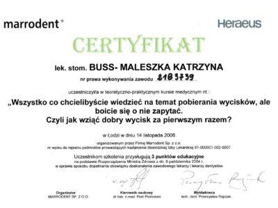 lek. stom. <span>Katarzyna Buss-Maleszka</span> 5