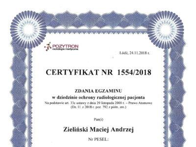 lek. stom. <span>Maciej Zieliński</span> 16